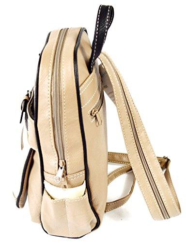 Damen Rucksack klein und praktisch zugleich City Bag Reiserucksack