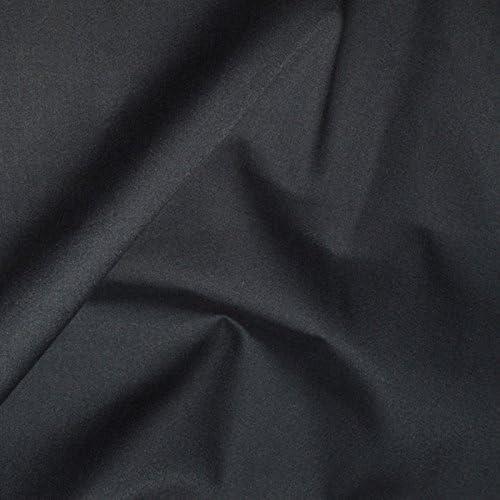 Tejido popelín algodón negra Coupon 3 metros – 3 M tela 100 ...