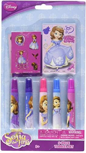 Sofia The First Stationery Set 9pc [Contains 5 Manufacturer Retail Unit(s) Per SKU# 23778MZ