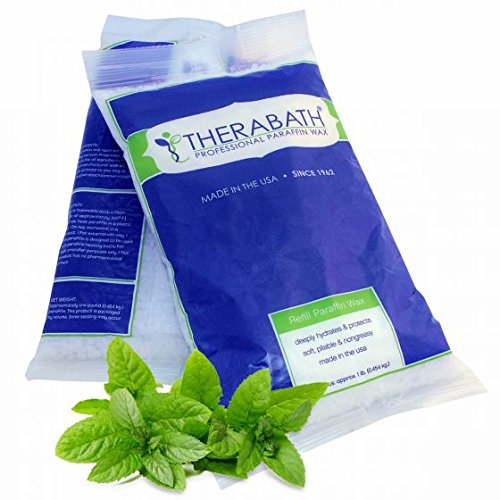 Therabath Refill Paraffin Wax, Lavender, 24 1-lb Bags by Therabath