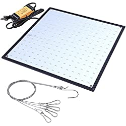 Yescom 225 White LEDs Grow Light Panel Hydroponics Ultrathin Lamp for Growing Room Tent Greenhouse