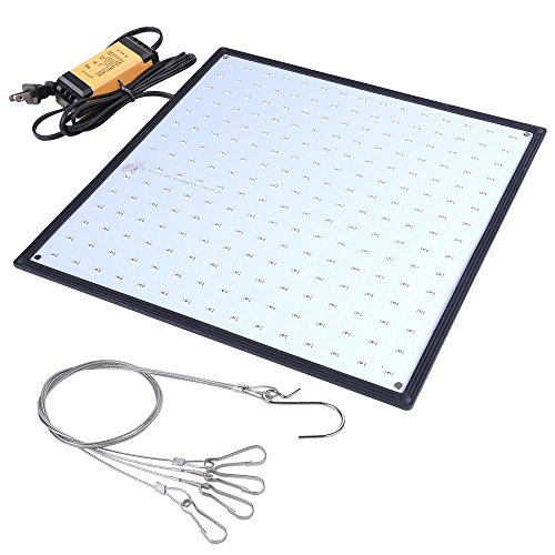 Yescom 225 Blue & White LEDs Grow Light Ultrathin Panel Hydroponics Room Tent Greenhouse Bulb Lamp by Yescom