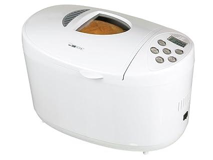 Clatronic - Panificadora BBA2865, 800W, 9Progr, 1,3Kg Pan.