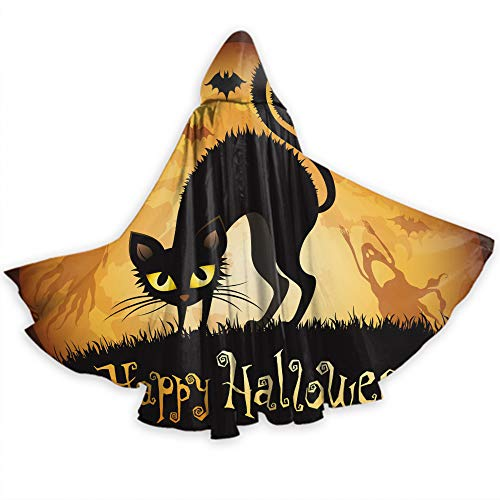 Khdkp Halloween Adult Cloak, Costumes, Cosplay and More Halloween Party ()