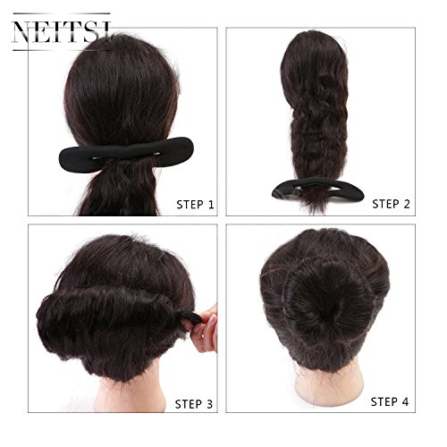 neitsi-2pcs-magic-foam-sponge-clip-hair-styling-donut-bun-former-maker-1-large-1-small-style1