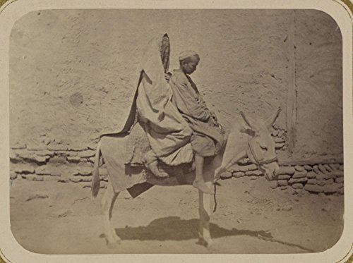 Price comparison product image 1865 Photo Ulichnye tipy sredneaziatskikh gorodov a woman and boy astride a horse. Location: Asia
