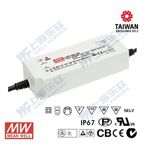 Meanwell LPF-90D-20 Power Supply - 90W 4.5A - Dimmable