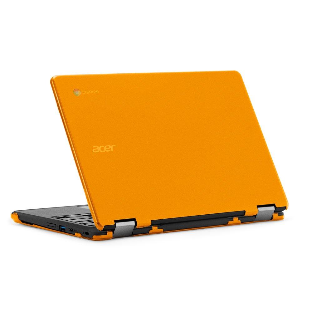 mCover - Carcasa rígida para Acer Chromebook Spin 11 R751T CP311 (** No es compatible con ninguna otra computadora portátil Acer **) -Naranja
