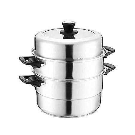 KYL Vapor del Acero Inoxidable de 3 Niveles/Capa cocinando ...