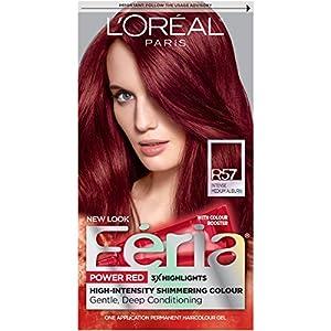 10. L'Oréal Paris Feria Permanent Hair Color, R57 Cherry Crush (Intense Medium Auburn)