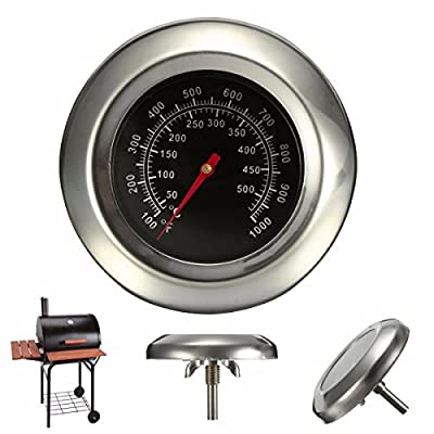 50~500 BBQ Grill Meat Thermometer Gauge Gage Cooking Food Household Kitchen Tools