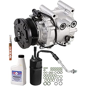 New AC Compressor & Clutch With Complete A/C Repair Kit For Ford Escape Hybrid - BuyAutoParts 60-81233RK New