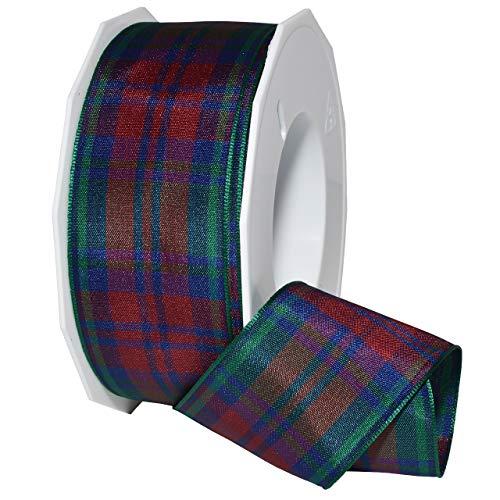 Morex Ribbon 975 Edinburgh Ribbon, 1.5 inches by 27 Yards, Lindsay Tartan