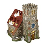 Department 56 Dickens' Village Church of St. Alban Lit House, 6.7 inch