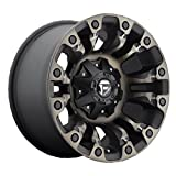 Fuel Vapor 17 Black Flake Wheel / Rim 5x4.5 & 5x5 with a -12mm Offset and a 78.1 Hub Bore. Partnumber D56917902645