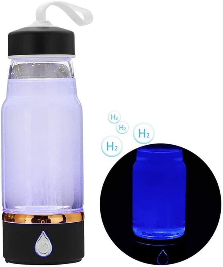 U&TE Botella de agua de hidrógeno ionizado, hidrógeno botella de ...