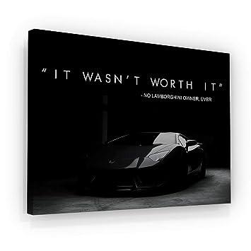 Amazon Com Successhuntersprints Lamborghini Canvas Print
