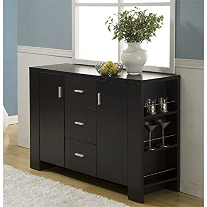 Modern sideboards furniture Contemporary Furniture Of America Nathan Modern Buffet In Espresso Better Homes And Gardens Amazoncom Furniture Of America Nathan Modern Buffet In Espresso