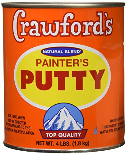 CRAWFORD PRODUCTS COMPANY, INC. 31604 Quart Natural Blend Painters Putty ()