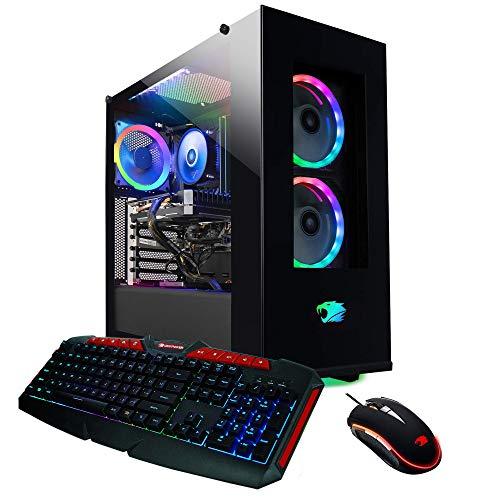 iBUYPOWER Elite Gaming PC Computer Desktop ElementPro 126a (AMD Ryzen 7 3700X 3.6GHz, NVIDIA GeForce GTX 1660 Super 6GB, 16GB DDR4, 1TB HDD, 480GB SSD, WiFi  Windows 10 Home) Black in USA