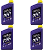 Royal Purple 01316 Max-Cycle Synthetic Motorcycle Oil 20W-50 for Highly Stressed Engines/Transmissions - 1 qt (Case of 4)