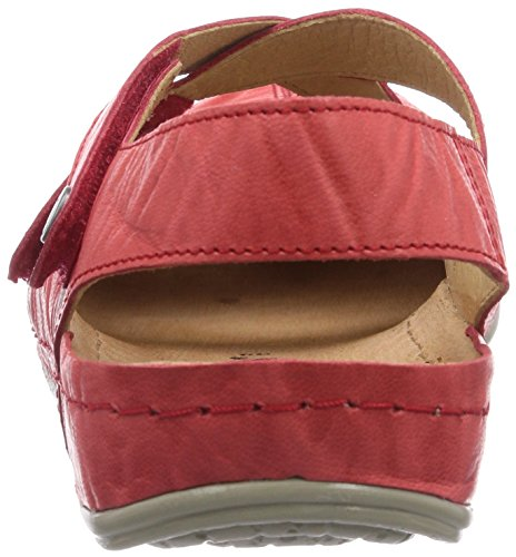 Brinkmann Delle Brinkmann Red 710680 rot Red Dr Rot Clogs rot Donne Rot Women's Dr 680 710 Zoccoli pg875qX