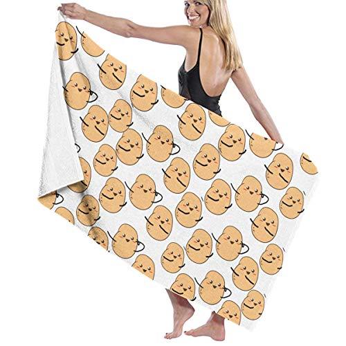 NiYoung Beach Towels Oversized I'm A Potato Cute Potatoes Beach Towel Large Pool Towel for Adults Kids Girls Beach Towel ()