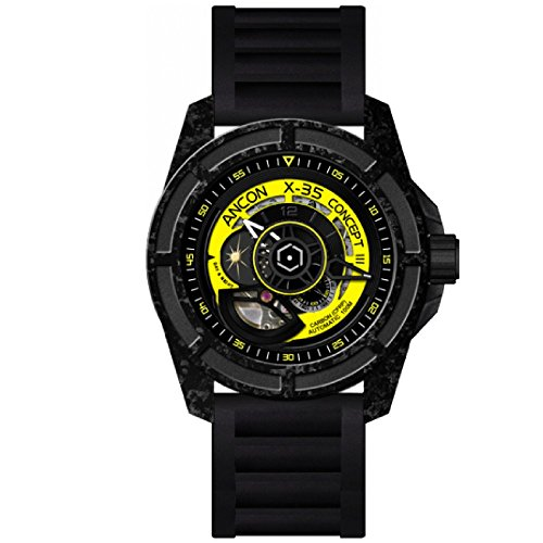ANCON X-35 Concept III Carbon Automatic Men's Watch X-35C303