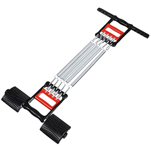 ZOORON Fitness Chest Expander Hand Gripper Multi-Functional 5 Springs Exercise Pull Abdominal Leg Thigh Arm Muscle strength Machine Trainer