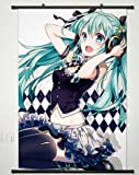 Home Decor Anime VOCALOID Cosplay Wall Scroll Poster Hatsune Miku 23.6 X 35.4 Inches-427