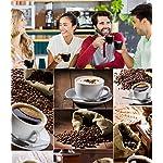 SHUHAO-Macinino-da-caff-Sola-Tazza-Caffettiera-Ceramica-Bava-Macinino-da-caff-Manuale-Macina-Incorporata-Adatto-per-La-Casa-E-LUfficio-Corsa-Esterna