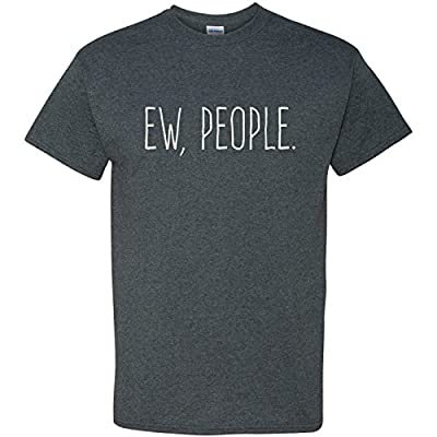 Ew People Funny Basic Cotton T-Shirt