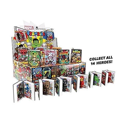 Full Case of 24 Tokidoki Marvel Frenzies Series 2 Blind Box Vinyl Mini Figures - Tokidoki Frenzies Series