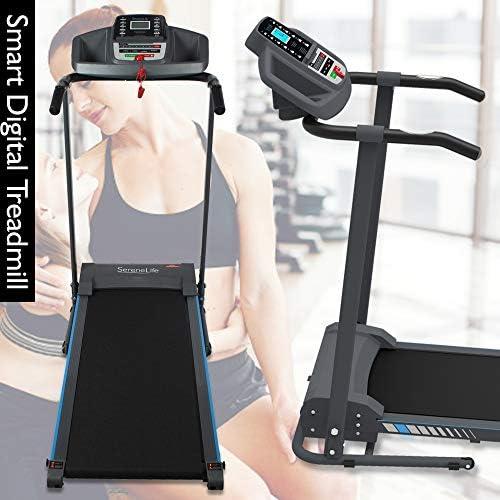 SereneLife SLFTRD20 - Máquina eléctrica plegable para ejercicios ...