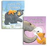 Best The Grandparent Gift Grandpas - I Love Grandma & I Love Grandpa Books Review