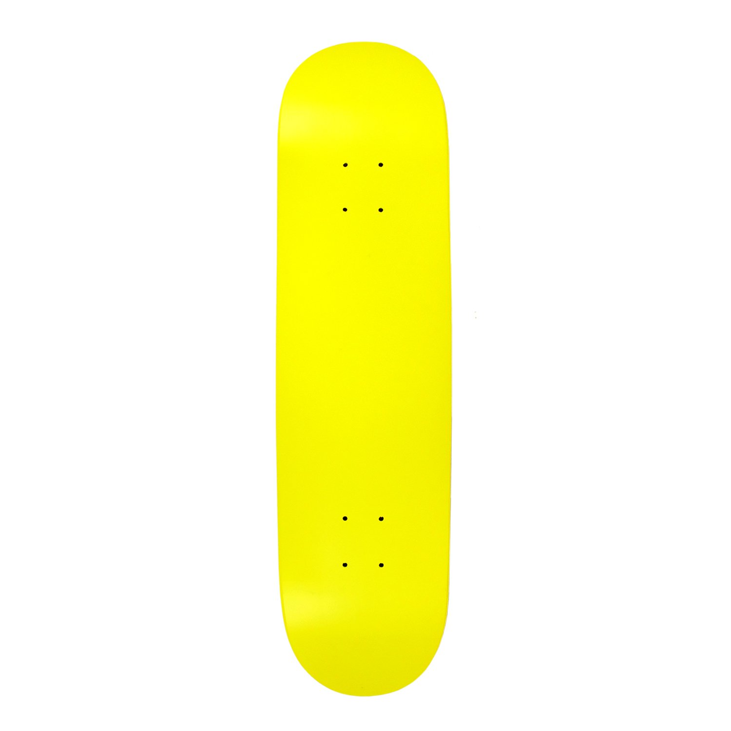 Amazon com : BLANK SKATEBOARD DECK - NEON YELLOW - 8 25