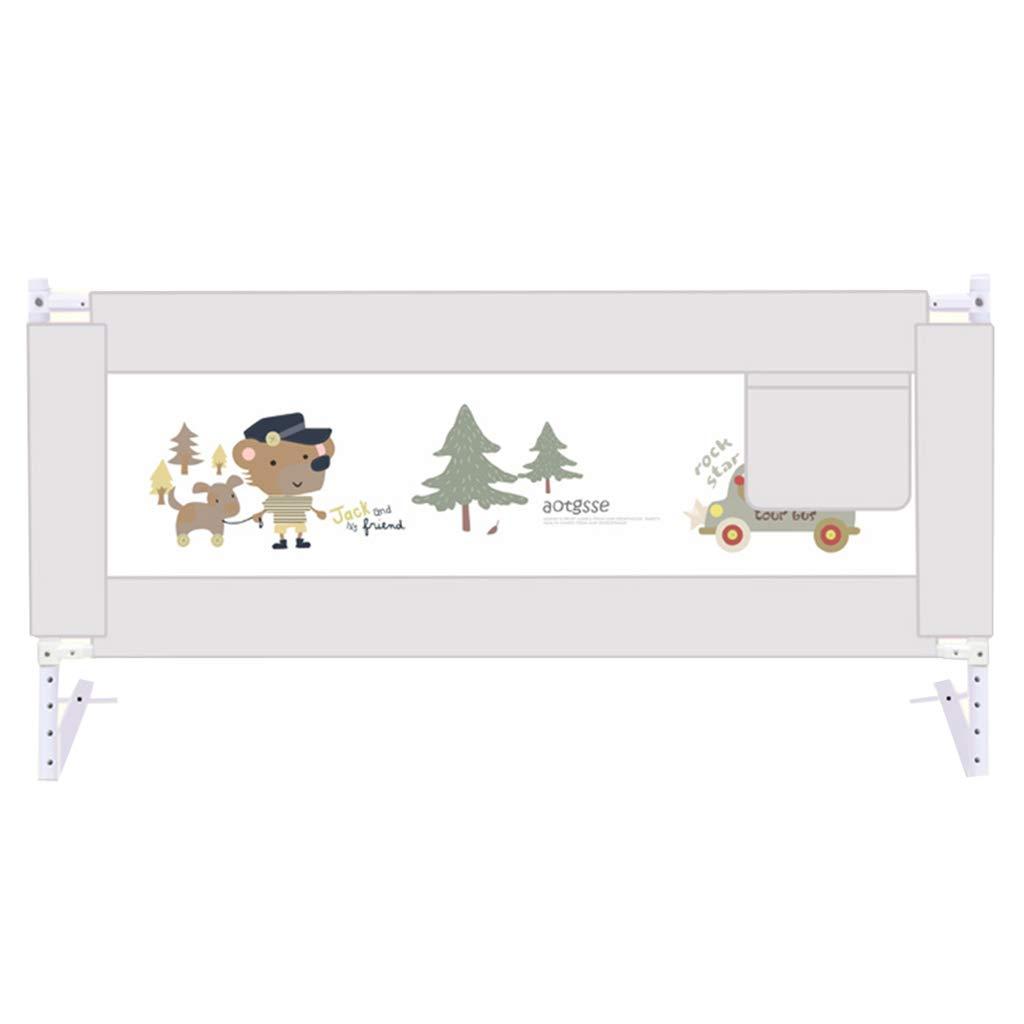 【人気商品!】 ポータブルベッドガード 余分な背の高い灰色のベッドレール幼児のために、折り畳み式の子供のためのベビーベッドガードレール86センチメートル高い (サイズ さいず : : Length (サイズ 180cm) 180cm) Length 180cm B07JMJ94WG, サロン&ホームケア大畑:769a39b9 --- kilkennyhousehotel.ie