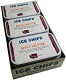 ICE CHIPS Xylitol Candy Tins (Apple Fritter, 6 Pack)