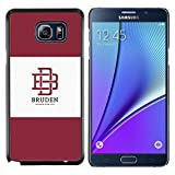 # Cellphone Hard Case PC Protective Cover Shell Case forSamsung Galaxy Note 5 # university brand maroon logo student # Gift Phone Case Housing #
