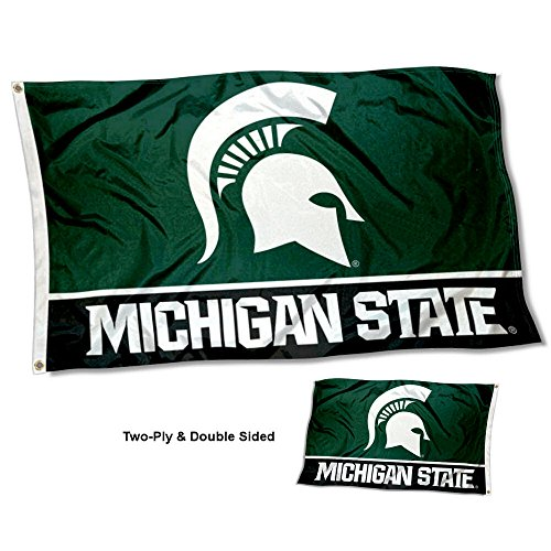 Michigan State Spartans Merchandise (Michigan State Spartans Double Sided Flag)