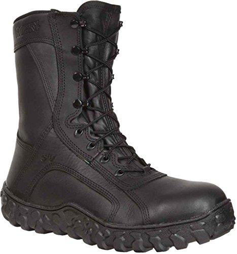 Rocky Mens S2v Flight Ops Steel Toe Tactical Military Boot - Fq0006202 Black Bf1Yq9w9
