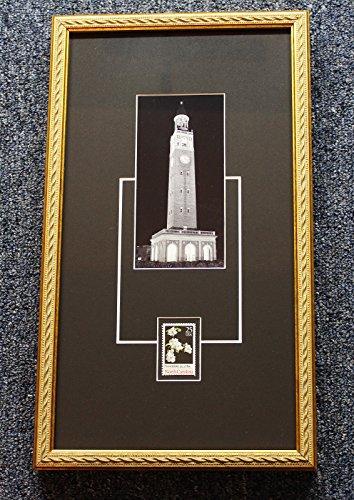 University of North Carolina Chapel Hill Bell Tower Black & White Photograph (North Carolina Chapel Hill Framed)