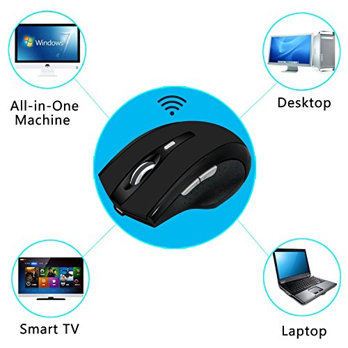 best Bluetooth Mouse, DINOWIN 3 0 Portable Mouse with