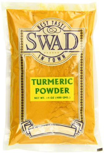 Swad Indian Spice Turmeric Haldi Powder, 14 Ounce