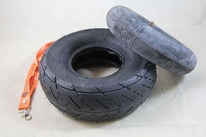 Nitro Motors Reifen mit Schlauch 3.00-4 f/ür Quad ATV Bollerwagen Sackkarre 4 Zoll 4