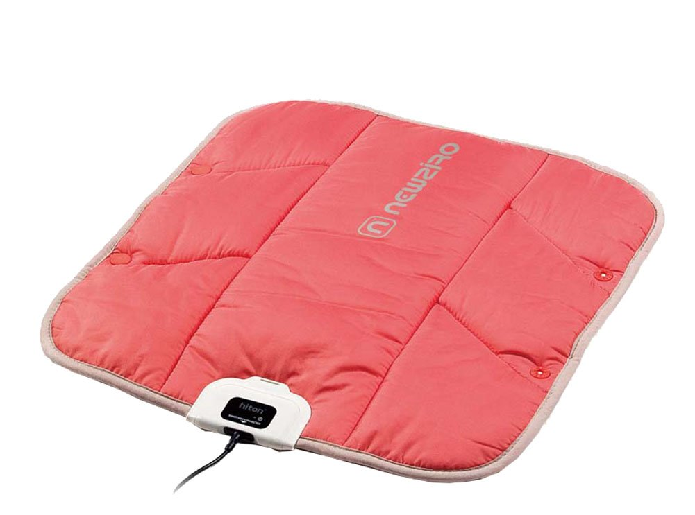 Heating Pad- Seat warmer, Heated Chair-pad for Car, Home, Outdoor, USB Powered, Washable (15.7 x 15.7 in) New ziro