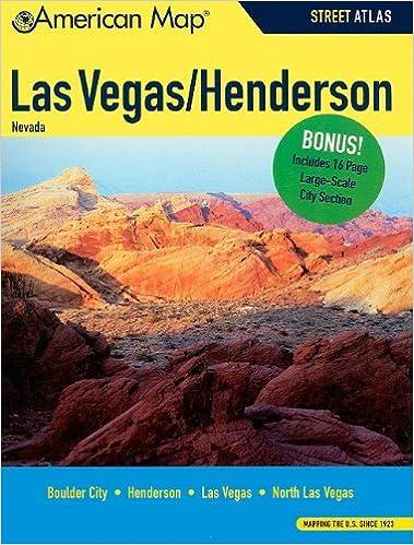 Las VegasHenderson NV Atlas American Map American Map