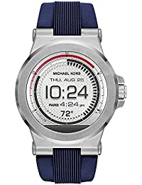 Access, Men's Smartwatch, Dylan Stainless Steel with Blue Silicone, MKT5008