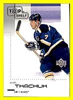 2002-03 UD Upper Deck Top Shelf #77 Keith Tkachuk ST. LOUIS BLUES