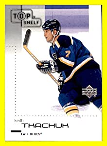 2002-03 UD Upper Deck Top Shelf #77 Keith Tkachuk ST. LOUIS BLUES